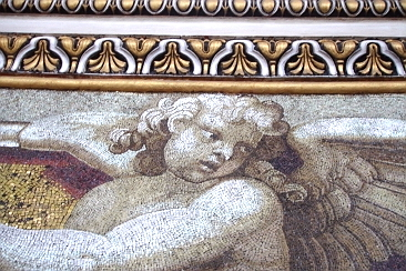 Mosaic in Saint Peter's Basilica