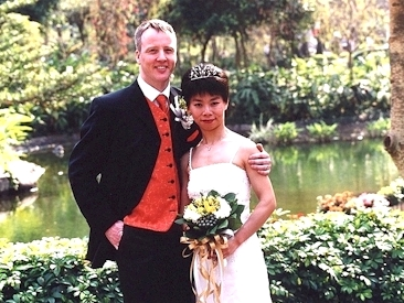 Wedding - Hong Kong Park 2